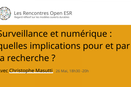 Rencontre Open ESR - Christophe Masutti
